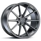 Staggered Full Set: Variant Argon Brushed Titanium (Cold Forged)