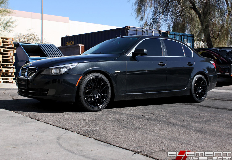 18x8 5 Inch Tsw Sebring Matte Black Wheels