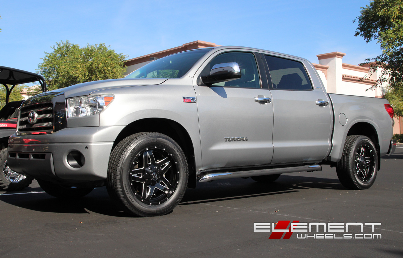 Toyota Tundra Wheels Custom Rim And Tire Packages