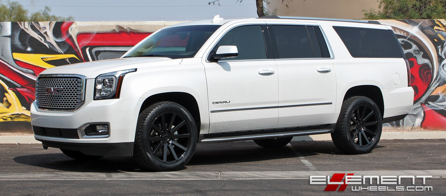 Gmc Yukon Wheels Custom Rim And Tire Packages