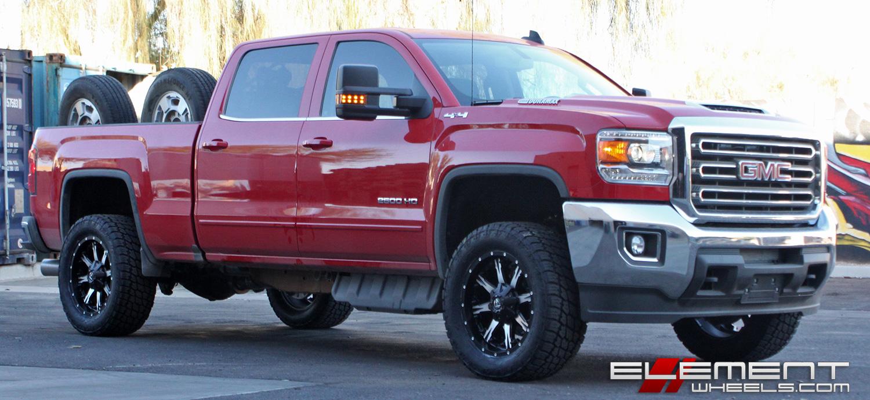 Gmc Sierra 2500 3500 Wheels Custom Rim And Tire Packages