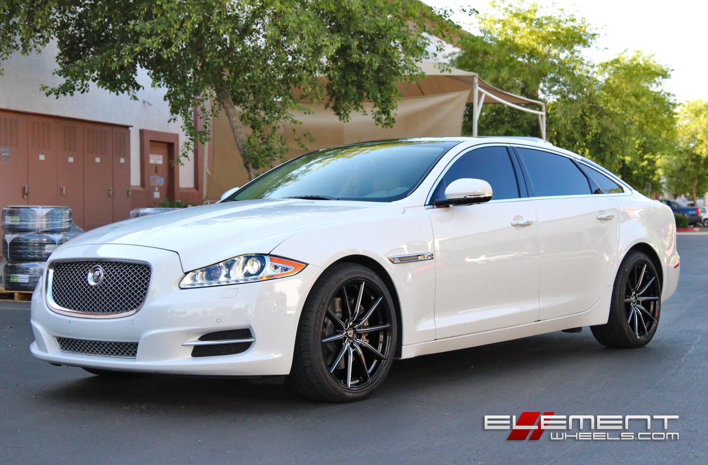 Jaguar Xj Wheels Custom Rim And Tire Packages