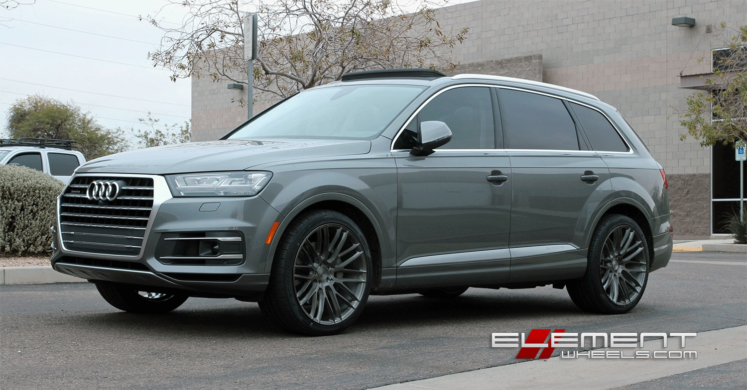 Audi Q7 Wheels Custom Rim And Tire Packages