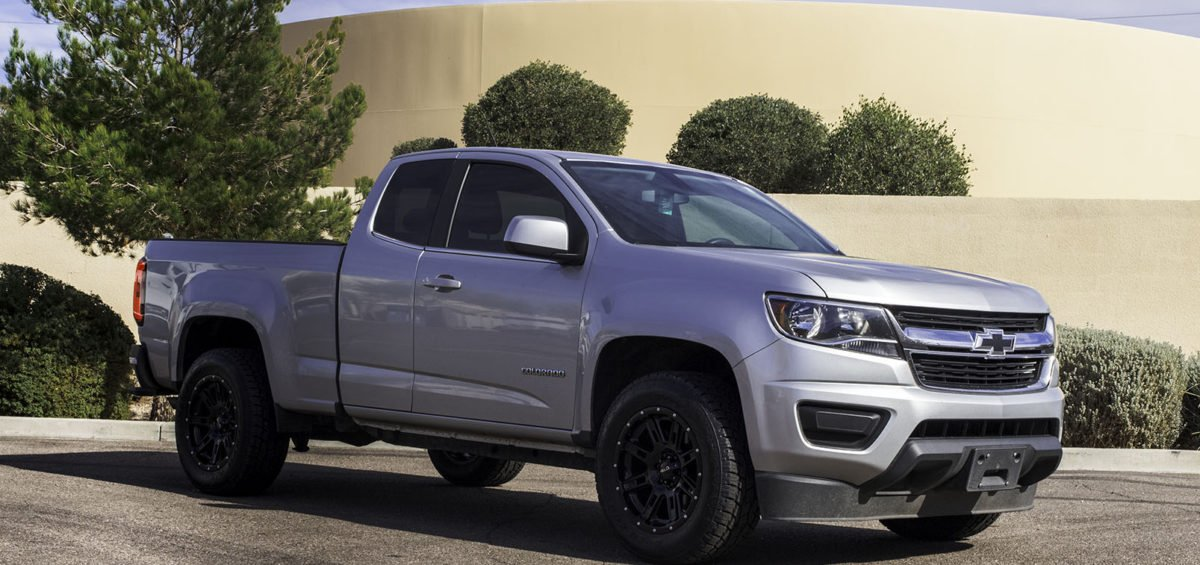 Chevrolet Colorado Wheels Custom Rim And Tire Packages