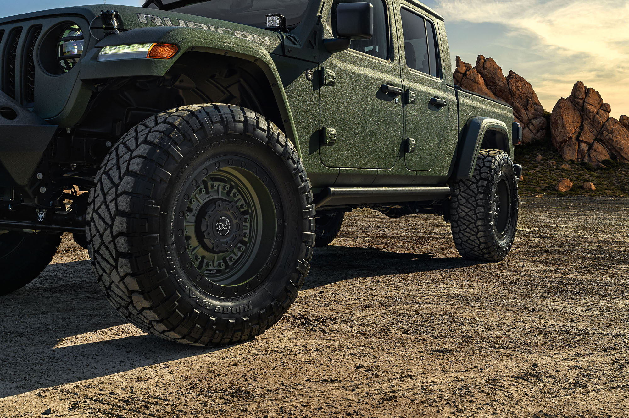 Jeep Gladiator Wheels Custom Rim And Tire Packages