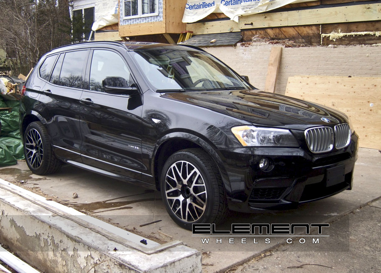 Bmw X3 Wheels Custom Rim And Tire Packages