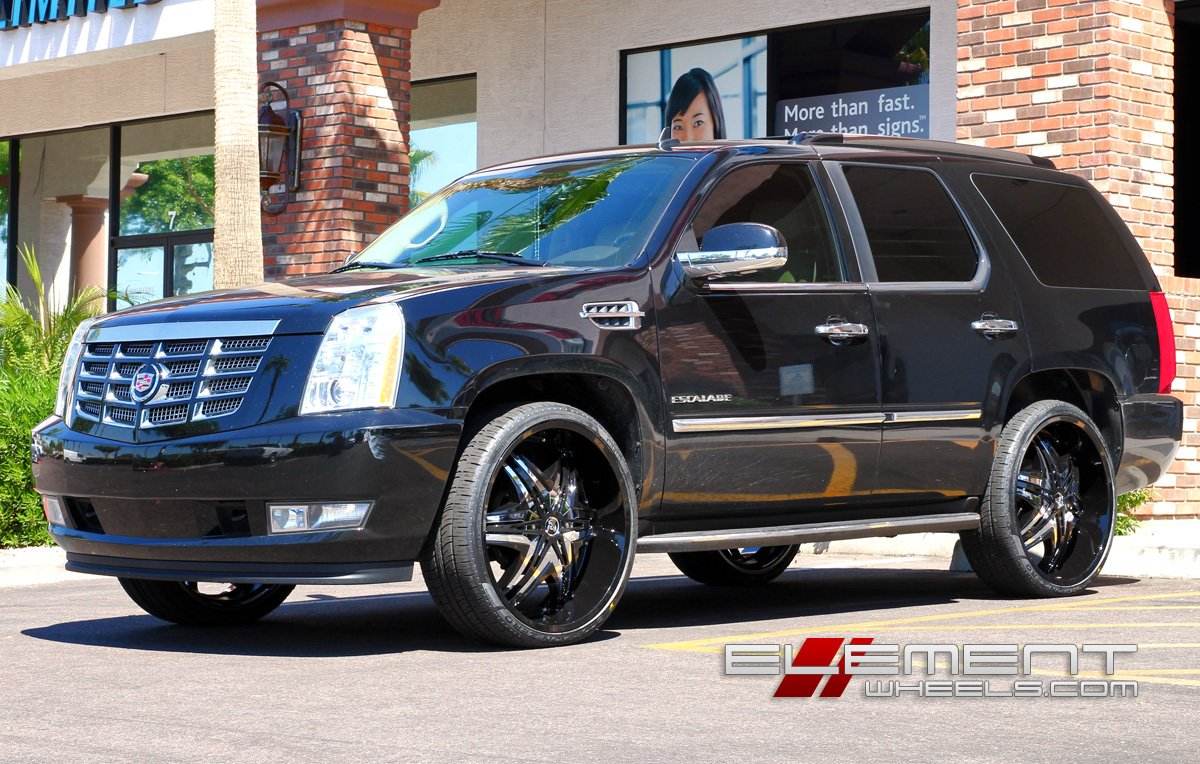 Cadillac Escalade Wheels   Custom Rim and Tire Packages