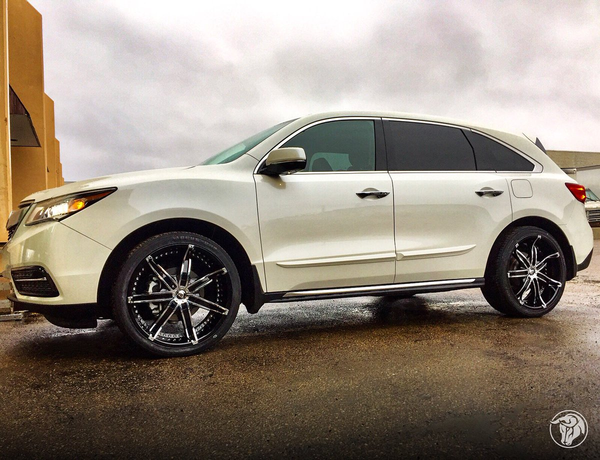 Acura Mdx Wheels Custom Rim And Tire Packages