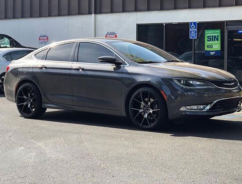 Chrysler 200 Wheels Custom Rim And Tire Packages