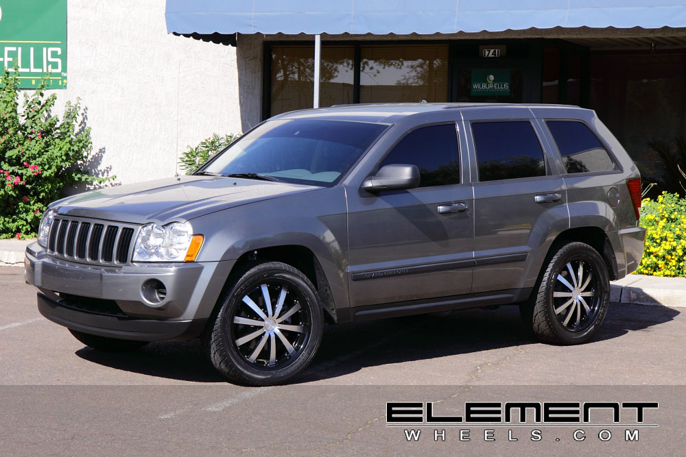 Jeep Grand Cherokee Wheels Custom Rim And Tire Packages