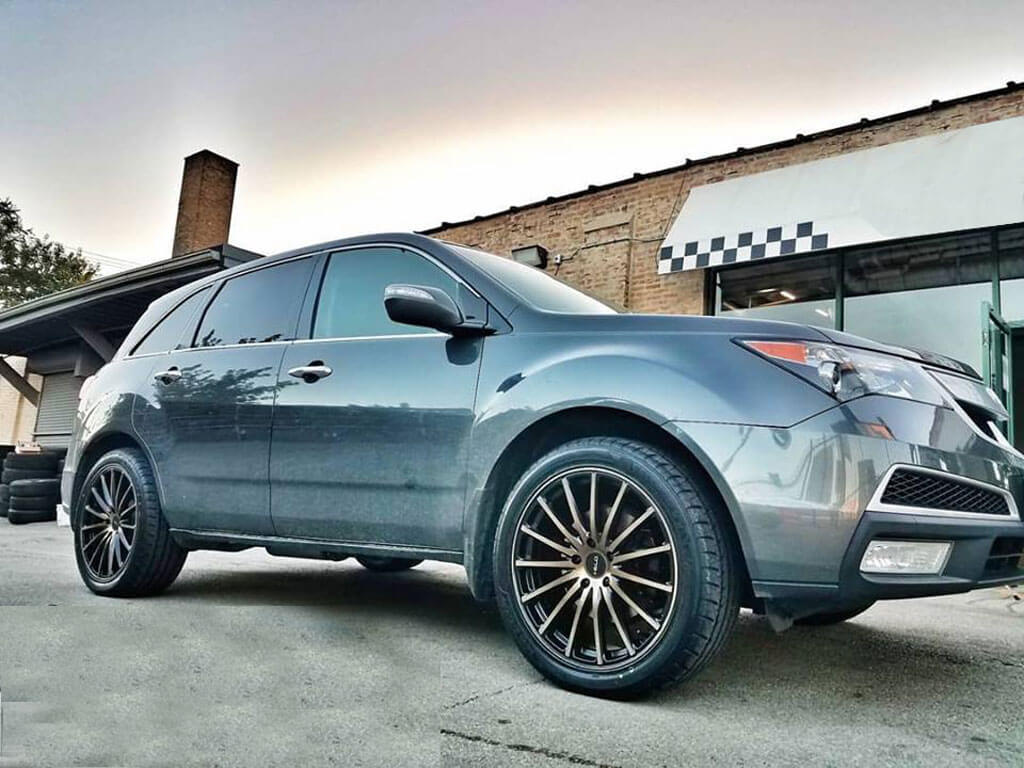 Acura Rdx Wheels Custom Rim And Tire Packages