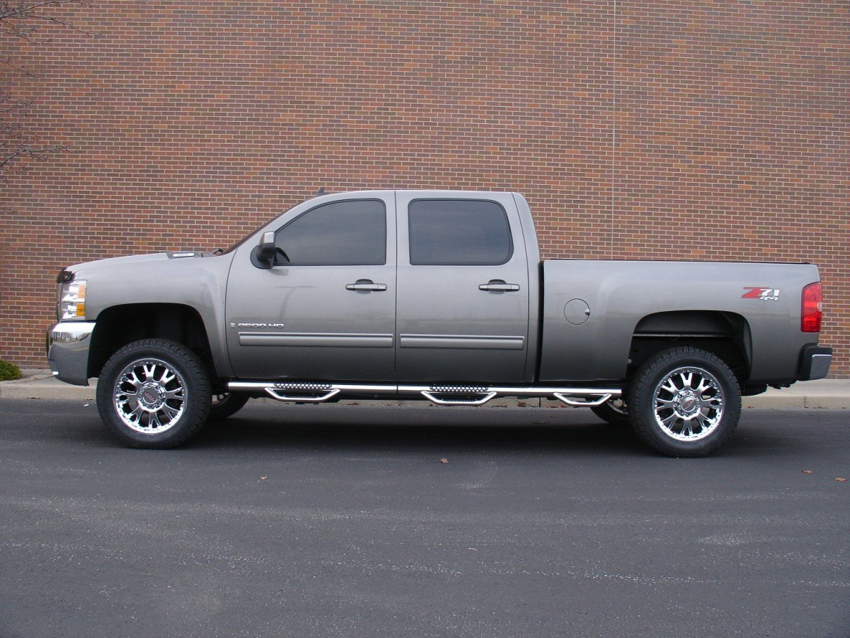Chevrolet Silverado 1500 Wheels Custom Rim And Tire Packages