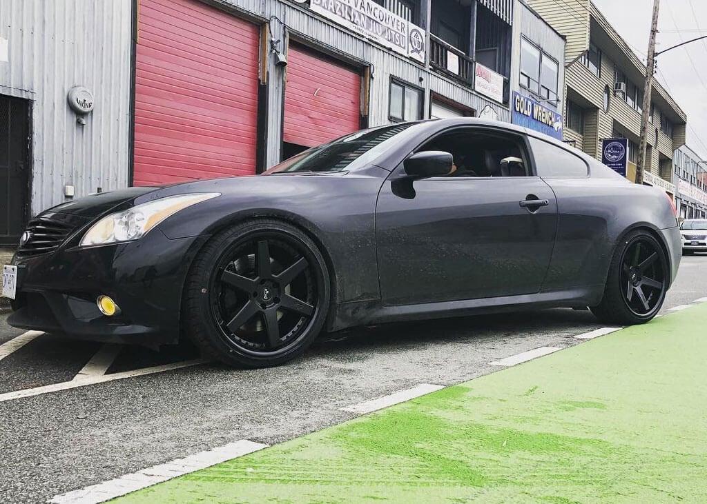Infiniti Wheels Custom Rim And Tire Packages