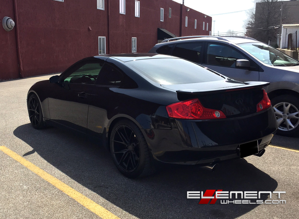 Infiniti G35 G37 Coupe Wheels Custom Rim And Tire Packages
