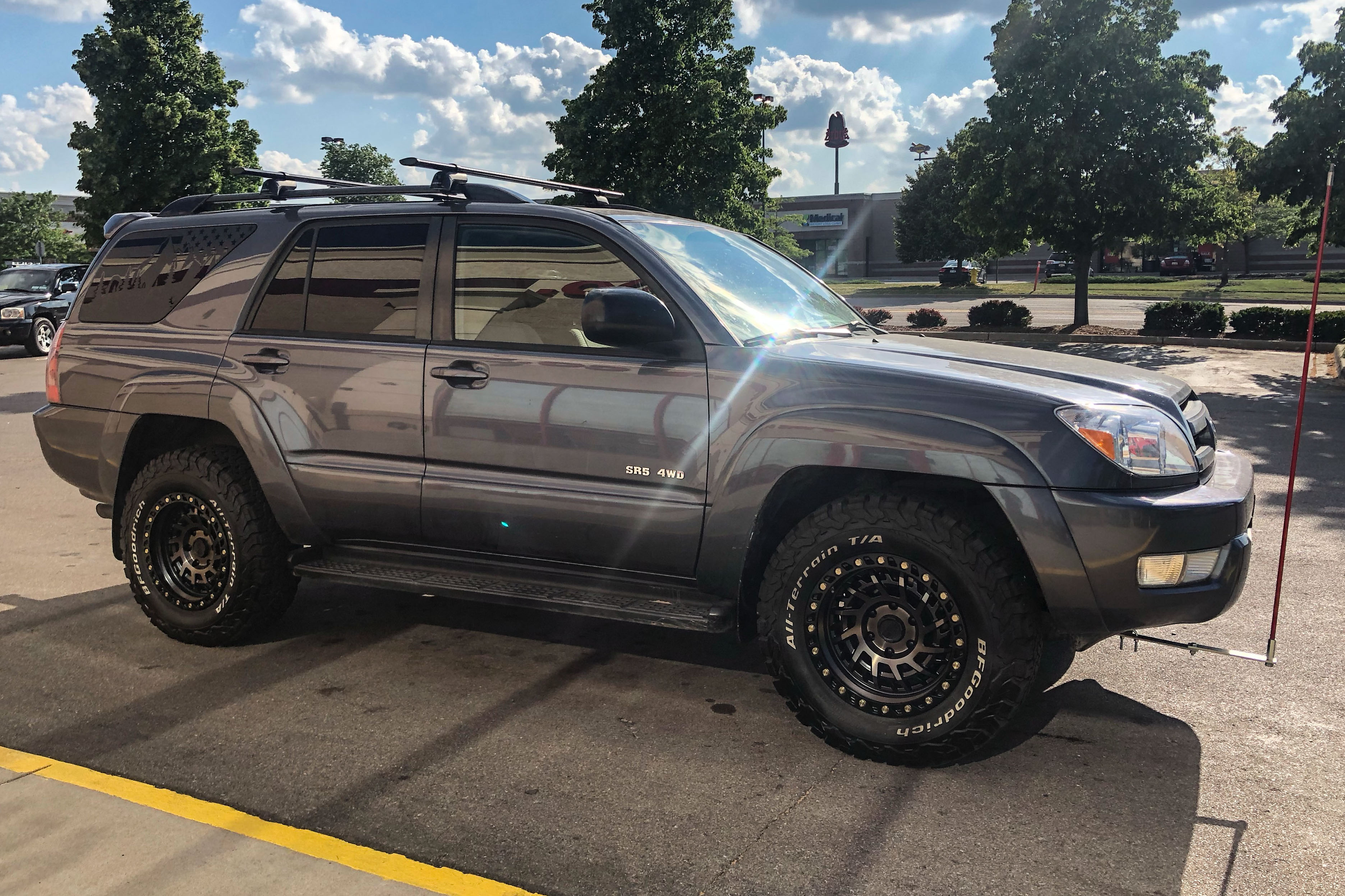 Toyota 4 Runner Wheels Custom Rim And Tire Packages