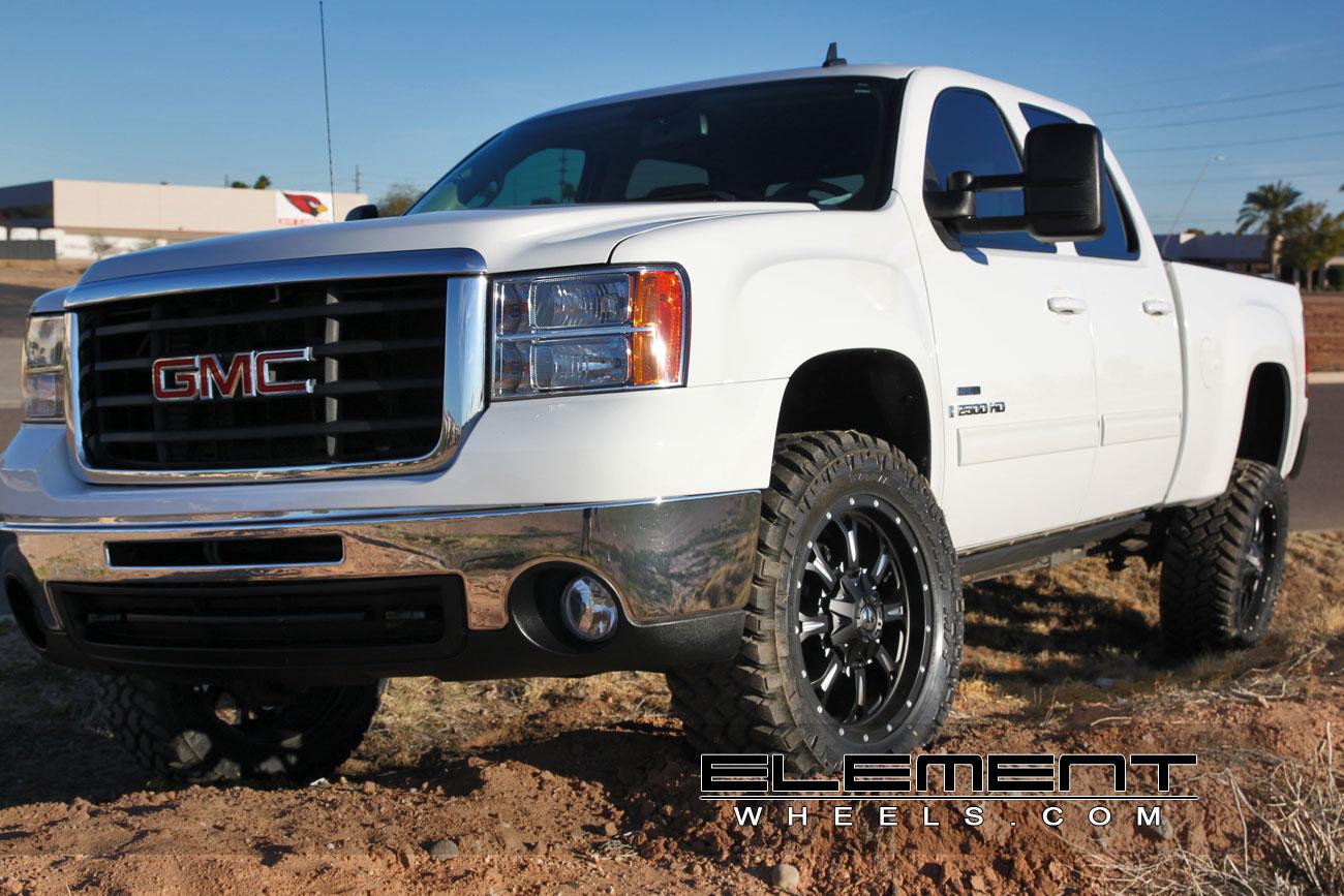 Gmc Sierra 1500 Wheels Custom Rim And Tire Packages