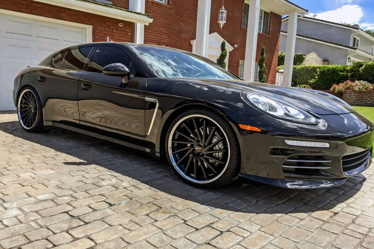 Porsche Panamera Wheels Custom Rim And Tire Packages