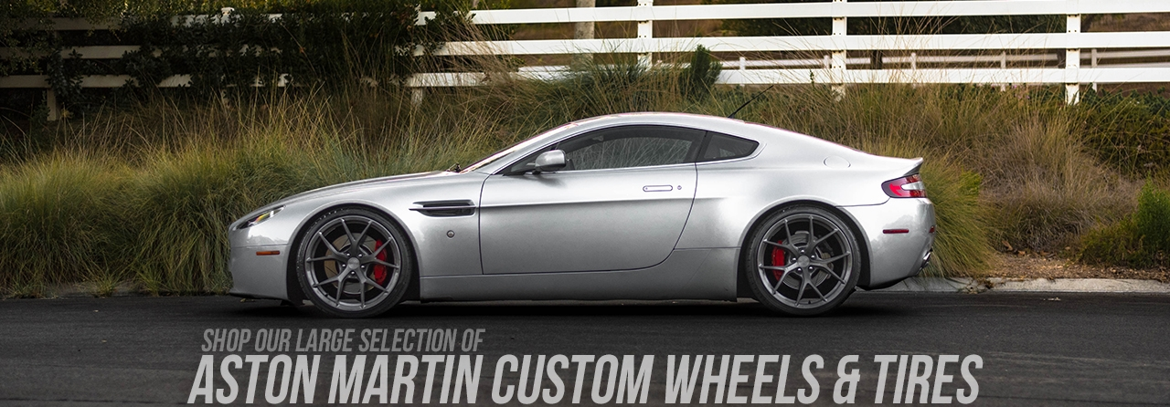Aston Martin Wheels Custom Rim And Tire Packages