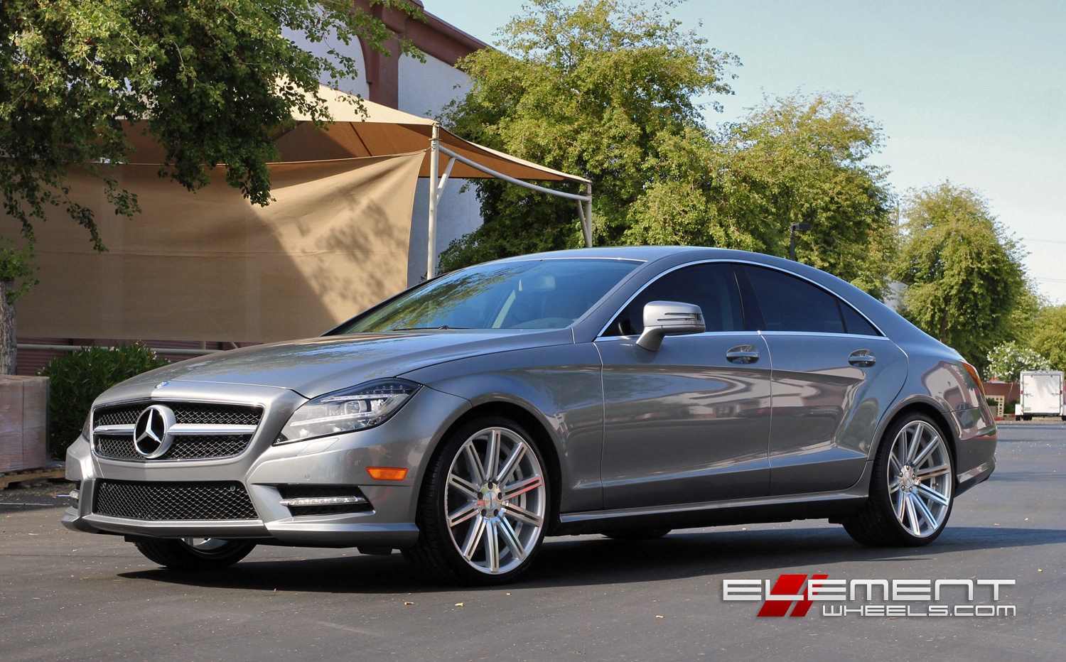 20 Inch Staggered Vossen Cv4 On 2014 Mercedes Cls W Specs