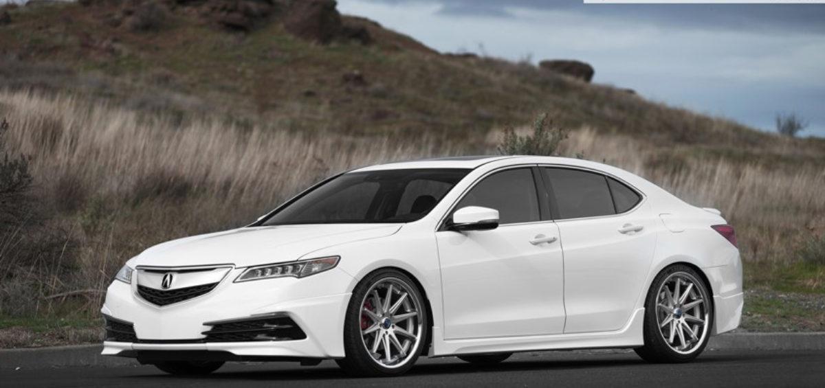 20 9 Rohana Rc10 Silver On 2017 Acura Tlx W Specs Element Wheels