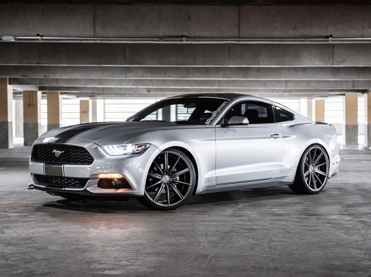 22 inch Blaque Diamond BD9 Wheels on 2015 Ford Mustang w/ Specs   Element Wheels