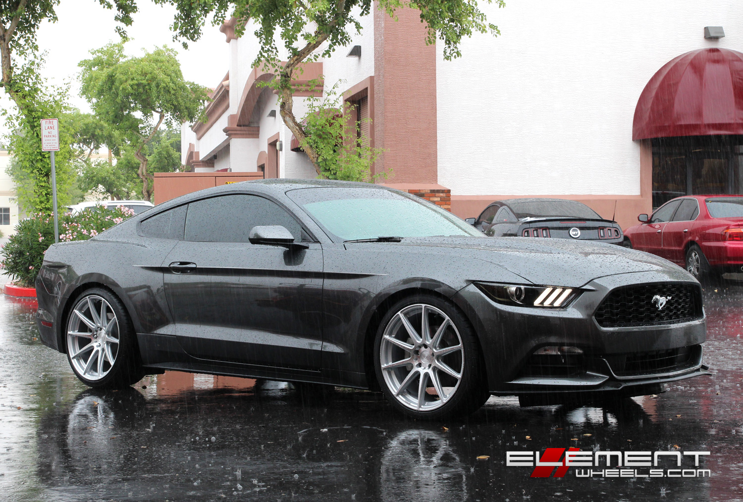 2015 Mustang 20 Inch Wheels >> 20 inch Staggered Niche Essen Wheels on 2015 Ford Mustang