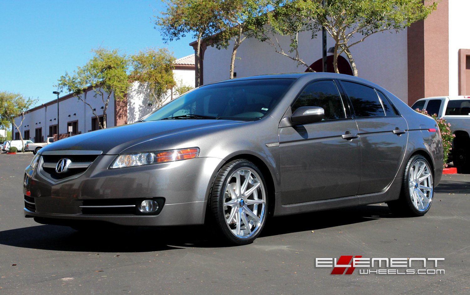 Rohana RC Staggered On Acura TL W Specs Element Wheels - 2004 acura tl wheel size