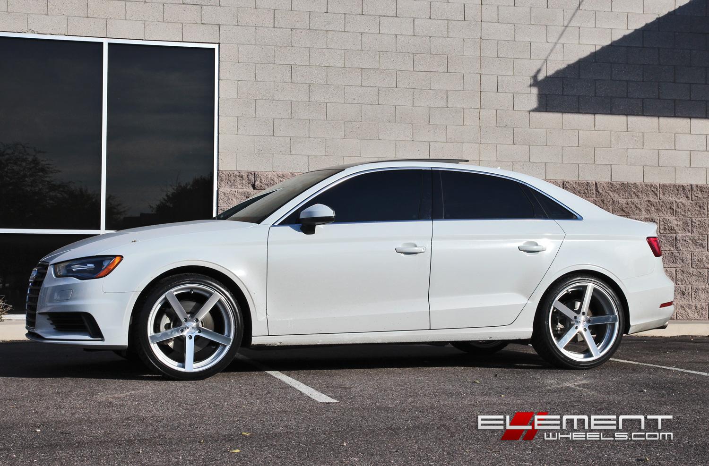Audi 2015 audi s3 specs : Rohana RC22 Silver Machined Wheels on 2015 Audi A3 w/ Specs ...