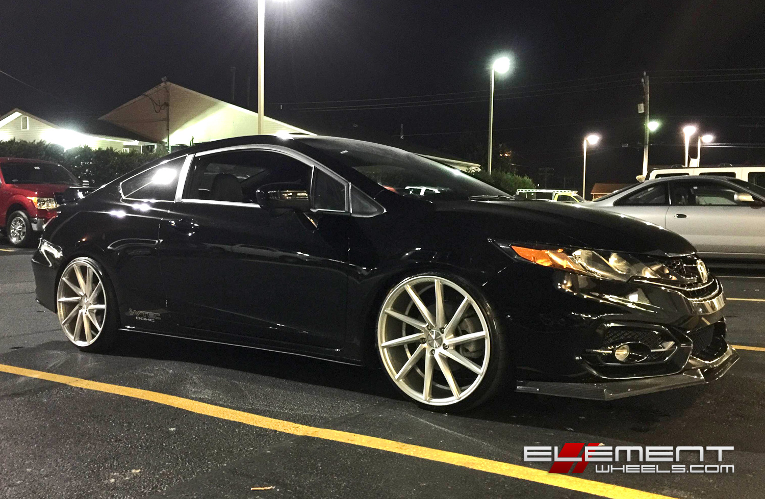 20 Inch Vossen CVT On 2015 Honda Civic Si Coupe W/ Specs | Element Wheels