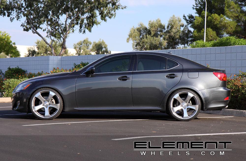 mrr hr2 20″ wheels on 07 lexus is250 w/ specs | element wheels