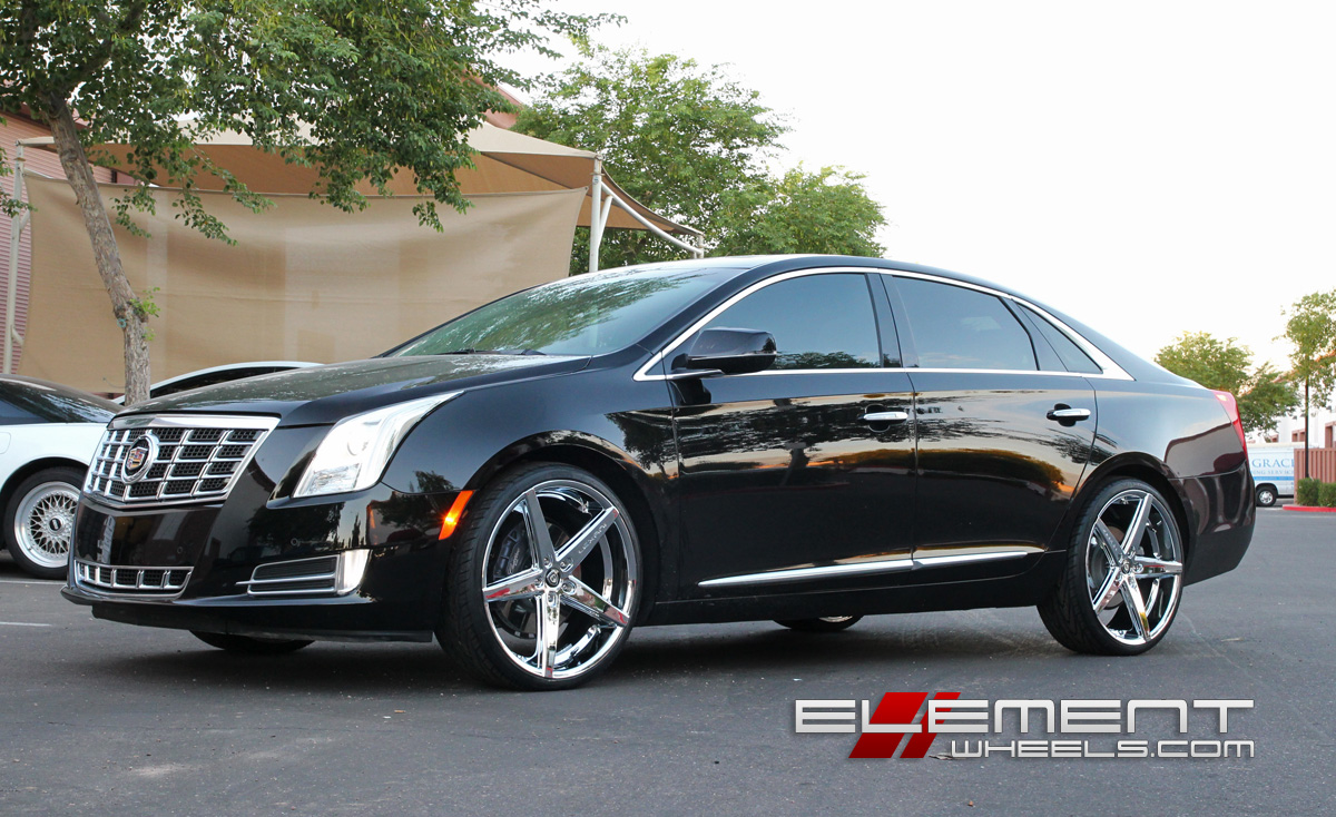 22 Inch Lexani R04 Chrome On 2013 Cadillac Xts W Specs