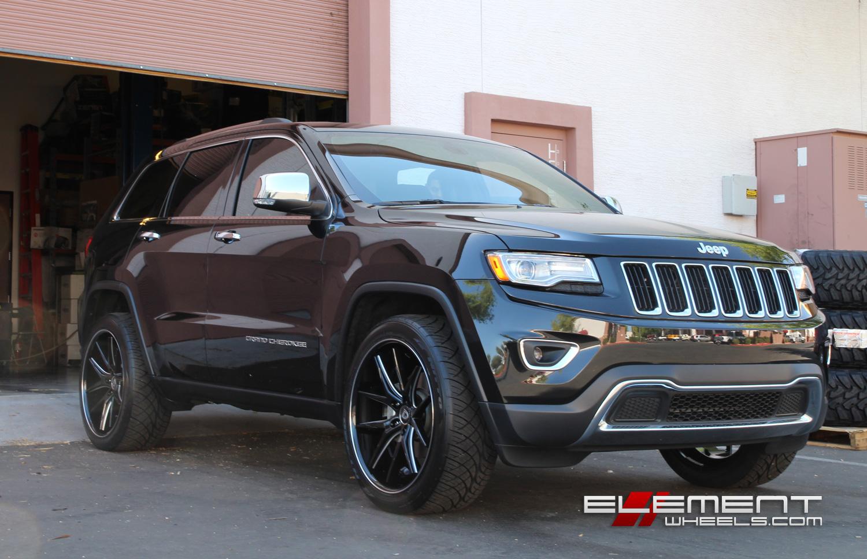 cherokee jeep grand lexani r12 wheels milled gloss specs 28mm offset tires 22x10