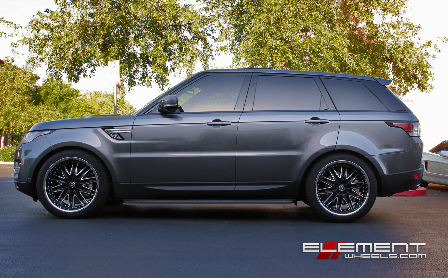 Range Rover Sport 2015 Matte Black >> Lexani Lx10 Gloss Black Milled Wheels On 2014 Range Rover Sport V6