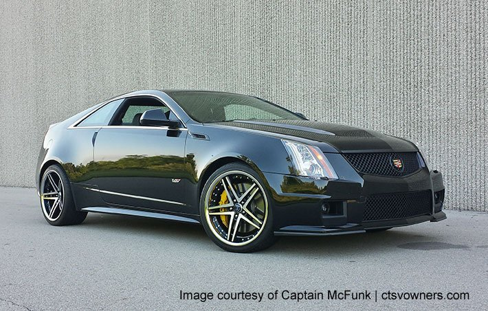 Rohana rc5 concave on cadillac cts v coupe w specs - Cadillac cts v coupe specs ...