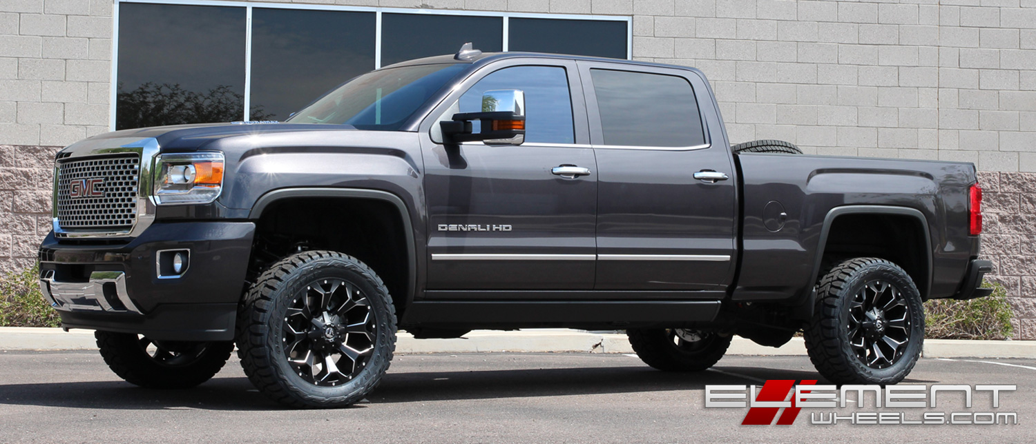 sierra fender gmc a main extend flares bushwacker set